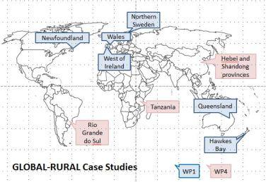 Case study map