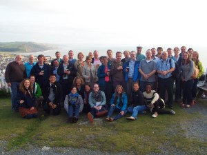 Participants in the UK-US-Canadian Rural Geography Conference in Aberystwyth
