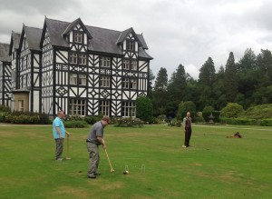 Croquet break at the UK-US-Canadian Rural Geography Conference